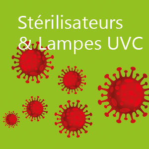 Purificateurs d'air UVC et stérilisateurs UVC