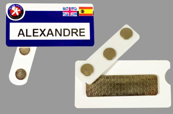 drapeaux autocollants pour badges